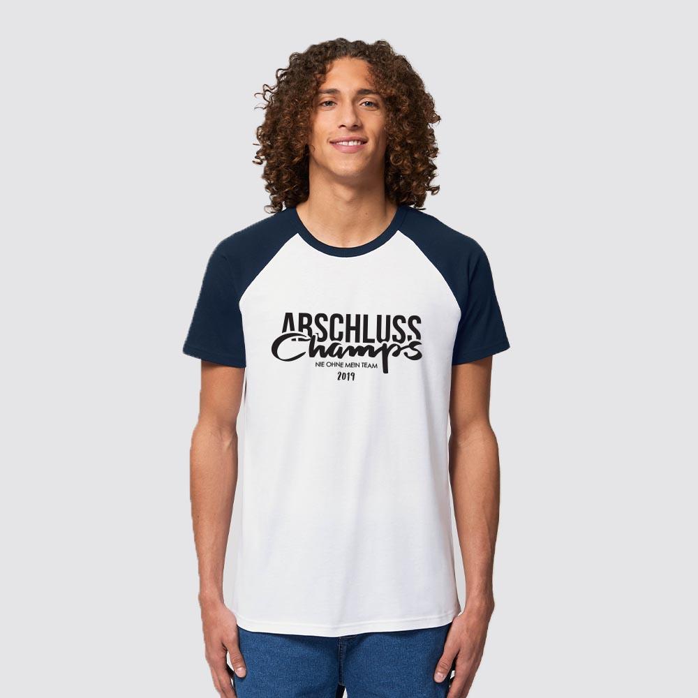 Abishirt Baseballshirt Abi-Shirt Abschlusschamps Abimotto