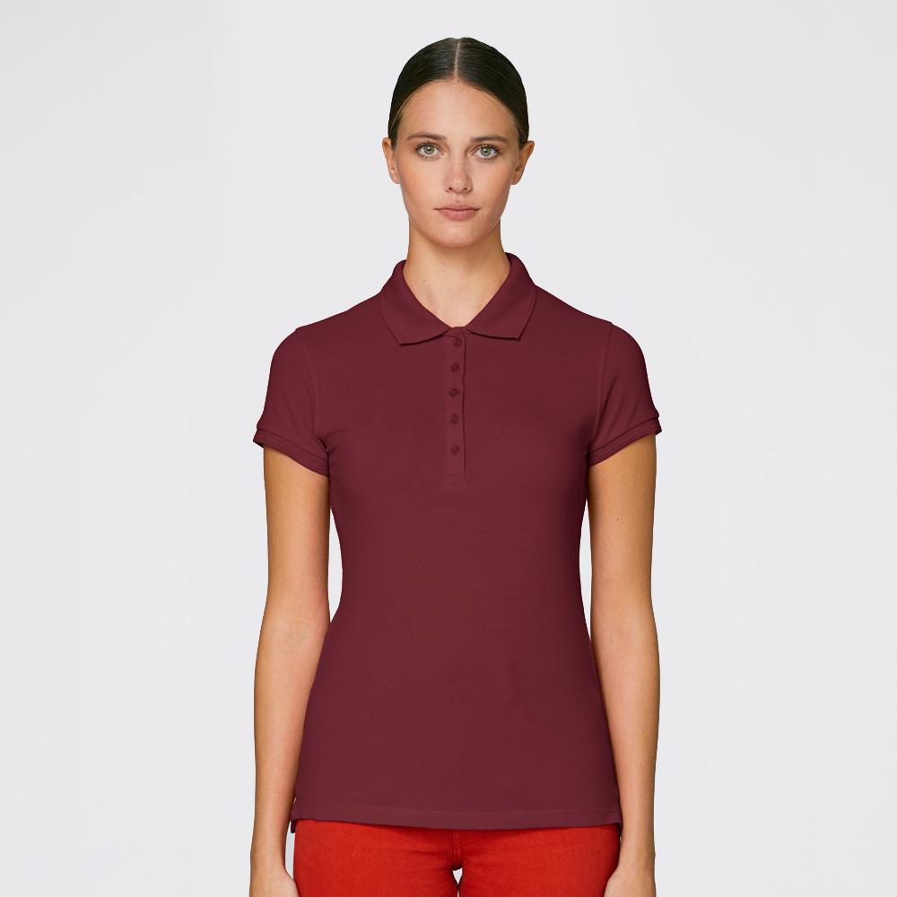yourabishirt Mädels Polo-Shirt Tine Abikleidung Abishirts Abihoodies fair bio und nachhaltig