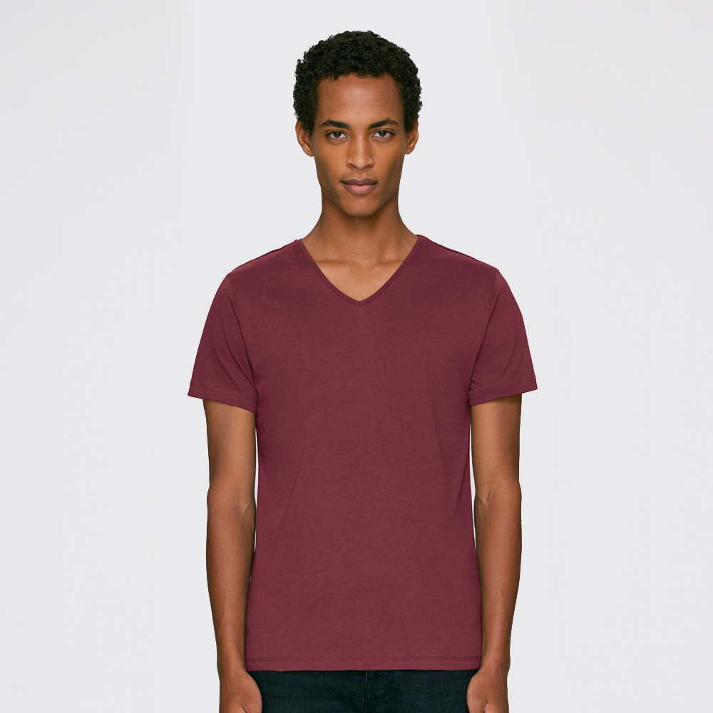 yourabishirt Jungs V-Neck T-Shirt Elias Abikleidung Abishirts Abihoodies fair bio und nachhaltig