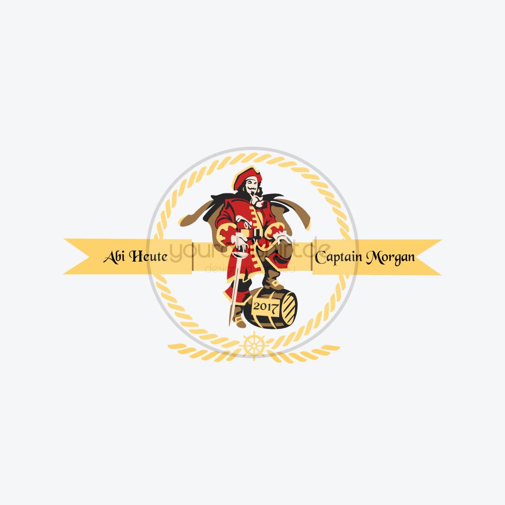 Abimotto Abimotiv Abipullis Abipulli Abishirts Abishirt Abi Design Abitur Motto Captain Morgan