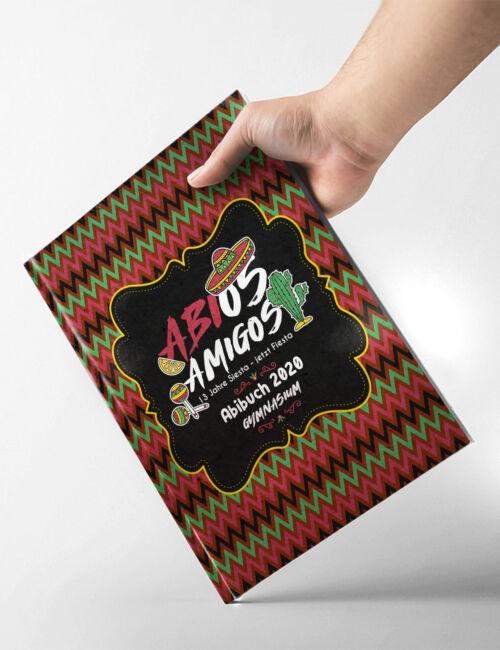 Abibuch Abizeitung Cover Softcover Hardcover Abios Amigos Abimerch